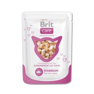 Брит Care 101020 пауч для кошек Морской лещ 80г