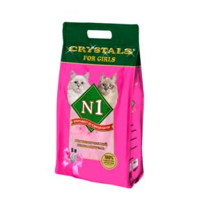 №1 Crystals For Girls Наполнитель силикагелевый 12,5л
