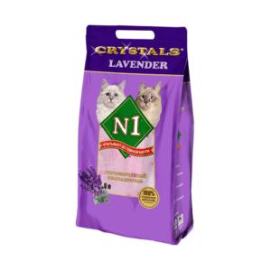 №1 Crystals Lavender Наполнитель силикагелевый 5л