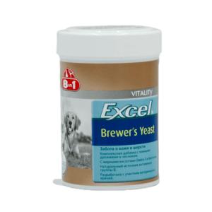 8 в 1 108603 Excel Brewer's Yeast Витамины д/собак с пивными дрожжами и чесноком 260таб