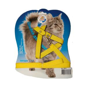 Зооник 1314 Поводок д/кошек+Шлейка из стропы+ синтепон на подкладке