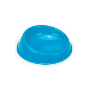 Beeztees 650173 Миска д/кошек пластиковая голубая 15см