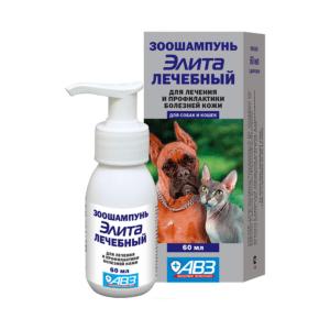 Элита Шампунь Лечебный 60мл