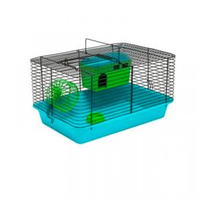 Дарэлл 4205 Клетка для мелких грызунов цветная 38*26*22см