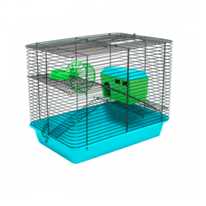 Дарэлл 4206 Клетка для мелких грызунов 38*26*30см 1 этаж укомплект.