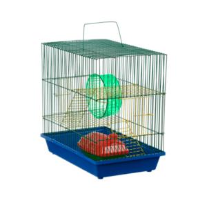 Зоомарк 135 Клетка д/грызунов 3-х этажная (комплект) 36*24*38