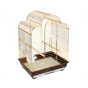 Триол 50611008/1301G-K Клетка д/птиц золото  52*41*71см