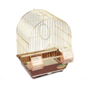 Триол 50611010/2100AG Клетка д/птиц, золото, 300*230*390мм