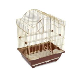 Триол 50611012/2113G Клетка д/птиц, золото, 300*230*390мм