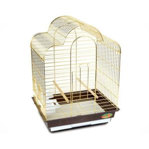 Триол 50611018/6113G-K Клетка д/птиц золото 46,5*36*66