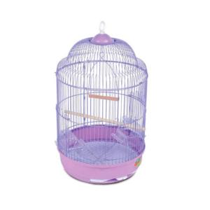 Триол 50691021/33А Клетка д/птиц круглая D33*56.6см