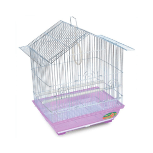Триол 1601Z/50671002 Клетка д/птиц, цинк 34,5*26*44см
