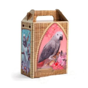 Триол 5181001 Домик-переноска д/декоративных птиц, 155*82*242мм