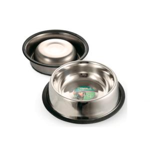 Триол 30261009/1552 Миска металл с тиснением на резинке 0,2л