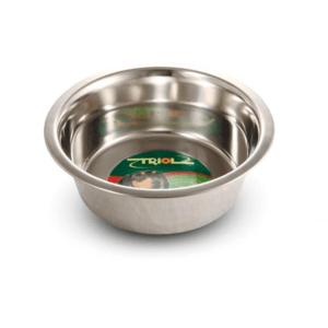 Триол 30261027/1611 Миска металлическая с тиснением 0,2л